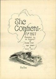 Page 5, 1927 Edition, Keokuk High School - Comment Yearbook (Keokuk, IA) online yearbook collection