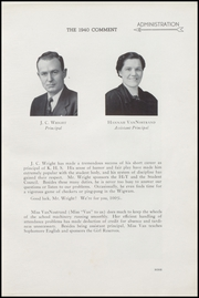 Page 13, 1940 Edition, Keokuk High School - Comment Yearbook (Keokuk, IA) online yearbook collection