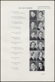 Page 15, 1940 Edition, Keokuk High School - Comment Yearbook (Keokuk, IA) online yearbook collection