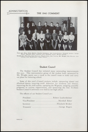 Page 16, 1940 Edition, Keokuk High School - Comment Yearbook (Keokuk, IA) online yearbook collection
