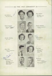 Page 14, 1947 Edition, Keokuk High School - Comment Yearbook (Keokuk, IA) online yearbook collection