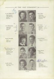 Page 15, 1947 Edition, Keokuk High School - Comment Yearbook (Keokuk, IA) online yearbook collection