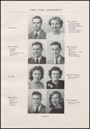 Page 17, 1948 Edition, Keokuk High School - Comment Yearbook (Keokuk, IA) online yearbook collection