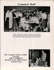 Page 3, 1956 Edition, Keokuk High School - Comment Yearbook (Keokuk, IA) online yearbook collection