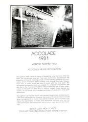 Page 5, 1981 Edition, Bishop Luers High School - Accolade Yearbook (Fort Wayne, IN) online yearbook collection