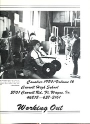 Page 5, 1984 Edition, Carroll High School - Cavalier Yearbook (Fort Wayne, IN) online yearbook collection