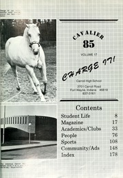 Page 5, 1985 Edition, Carroll High School - Cavalier Yearbook (Fort Wayne, IN) online yearbook collection