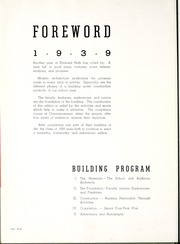 Page 8, 1939 Edition, Elmhurst High School - Anlibrum Yearbook (Fort Wayne, IN) online yearbook collection