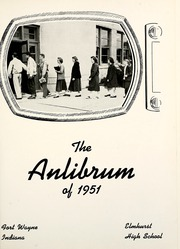 Page 5, 1951 Edition, Elmhurst High School - Anlibrum Yearbook (Fort Wayne, IN) online yearbook collection