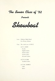 Page 5, 1952 Edition, Elmhurst High School - Anlibrum Yearbook (Fort Wayne, IN) online yearbook collection