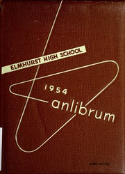 Page 1, 1954 Edition, Elmhurst High School - Anlibrum Yearbook (Fort Wayne, IN) online yearbook collection