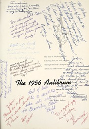 Page 5, 1956 Edition, Elmhurst High School - Anlibrum Yearbook (Fort Wayne, IN) online yearbook collection