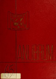 Page 1, 1965 Edition, Elmhurst High School - Anlibrum Yearbook (Fort Wayne, IN) online yearbook collection
