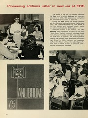 Page 14, 1965 Edition, Elmhurst High School - Anlibrum Yearbook (Fort Wayne, IN) online yearbook collection