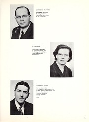 Page 9, 1951 Edition, Woodlan Senior High School - Arrow Yearbook (Woodburn, IN) online yearbook collection