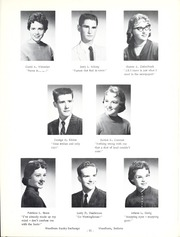 Page 15, 1959 Edition, Woodlan Senior High School - Arrow Yearbook (Woodburn, IN) online yearbook collection
