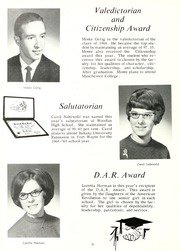 Page 16, 1968 Edition, Woodlan Senior High School - Arrow Yearbook (Woodburn, IN) online yearbook collection