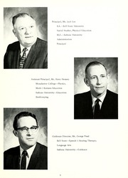 Page 7, 1969 Edition, Woodlan Senior High School - Arrow Yearbook (Woodburn, IN) online yearbook collection