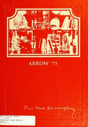 1975 Edition, Woodlan Senior High School - Arrow Yearbook (Woodburn, IN)