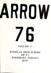 Page 5, 1976 Edition, Woodlan Senior High School - Arrow Yearbook (Woodburn, IN) online yearbook collection