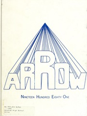 1981 Edition, Woodlan Senior High School - Arrow Yearbook (Woodburn, IN)