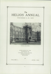 Page 17, 1924 Edition, Central High School - Helios Yearbook (Grand Rapids, MI) online yearbook collection
