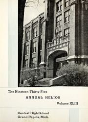 Page 7, 1935 Edition, Central High School - Helios Yearbook (Grand Rapids, MI) online yearbook collection