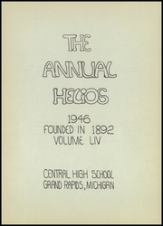 Page 7, 1946 Edition, Central High School - Helios Yearbook (Grand Rapids, MI) online yearbook collection