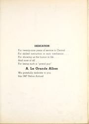 Page 9, 1947 Edition, Central High School - Helios Yearbook (Grand Rapids, MI) online yearbook collection