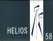 1958 Edition, Central High School - Helios Yearbook (Grand Rapids, MI)