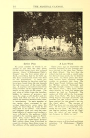 Page 16, 1915 Edition, Arsenal Technical High School - Arsenal Cannon Yearbook (Indianapolis, IN) online yearbook collection