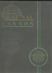 Page 1, 1934 Edition, Arsenal Technical High School - Arsenal Cannon Yearbook (Indianapolis, IN) online yearbook collection