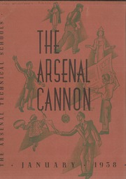 1938 Edition, Arsenal Technical High School - Arsenal Cannon Yearbook (Indianapolis, IN)