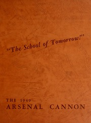 Arsenal Technical High School - Arsenal Cannon Yearbook (Indianapolis, IN) online yearbook collection, 1949 Edition, Page 1