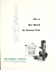 Page 5, 1957 Edition, Arsenal Technical High School - Arsenal Cannon Yearbook (Indianapolis, IN) online yearbook collection