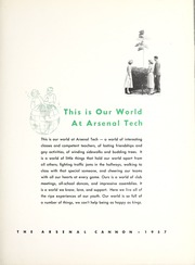 Page 7, 1957 Edition, Arsenal Technical High School - Arsenal Cannon Yearbook (Indianapolis, IN) online yearbook collection