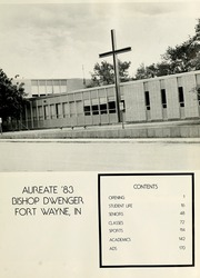 Page 5, 1983 Edition, Bishop Dwenger High School - Aureate Yearbook (Fort Wayne, IN) online yearbook collection