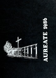 1986 Edition, Bishop Dwenger High School - Aureate Yearbook (Fort Wayne, IN)