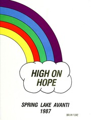 1987 Edition, Spring Lake High School - Avanti Yearbook (Spring Lake, MI)