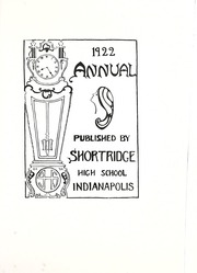 Page 9, 1921 Edition, Shortridge High School - Annual Yearbook (Indianapolis, IN) online yearbook collection