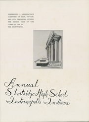 Page 5, 1949 Edition, Shortridge High School - Annual Yearbook (Indianapolis, IN) online yearbook collection