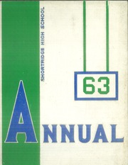 Page 1, 1963 Edition, Shortridge High School - Annual Yearbook (Indianapolis, IN) online yearbook collection