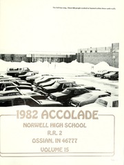 Page 5, 1982 Edition, Norwell High School - Accolade Yearbook (Ossian, IN) online yearbook collection