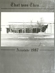 1987 Edition, Norwell High School - Accolade Yearbook (Ossian, IN)