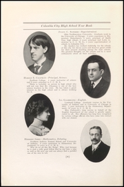 Page 12, 1914 Edition, Columbia City High School - Columbian Yearbook (Columbia City, IN) online yearbook collection