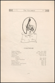 Page 12, 1924 Edition, Columbia City High School - Columbian Yearbook (Columbia City, IN) online yearbook collection