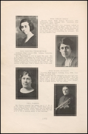 Page 16, 1924 Edition, Columbia City High School - Columbian Yearbook (Columbia City, IN) online yearbook collection