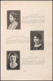 Page 17, 1924 Edition, Columbia City High School - Columbian Yearbook (Columbia City, IN) online yearbook collection
