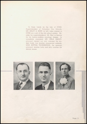 Page 15, 1939 Edition, Columbia City High School - Columbian Yearbook (Columbia City, IN) online yearbook collection