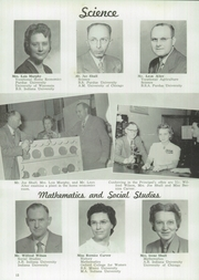 Page 16, 1951 Edition, Columbia City High School - Columbian Yearbook (Columbia City, IN) online yearbook collection